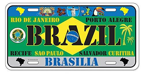 Dimension 9 Home Decorative Plates Brazil Garden