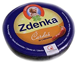 Spreadable Cheese Wedges - Hot Pepper (Zdenka) 140g