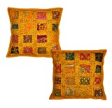 Rajasthali Handmade Cotton Cushion Cover Patchwork Home Décor 16