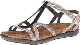 Naot Women\'s Dorith Gladiator Sandal, Fishnet, 40 EU/9 M US