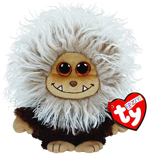 [Ty Frizzys Zinger Plush, Brown NEW Beanie Babies Boo Plush Toy Boos] (Homemade Ty Beanie Baby Costumes)