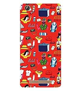 EPICCASE tourist Mobile Back Case Cover For Gionee Marathon M5 lite (Designer Case)