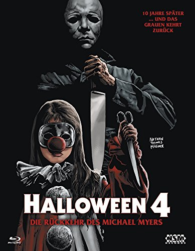 Halloween 4 (Blu-Ray) Hartbox - Limited 333 Edition Cover B