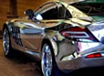 MIRROR CHROME SILVER VINYL CAR WRAP 5...