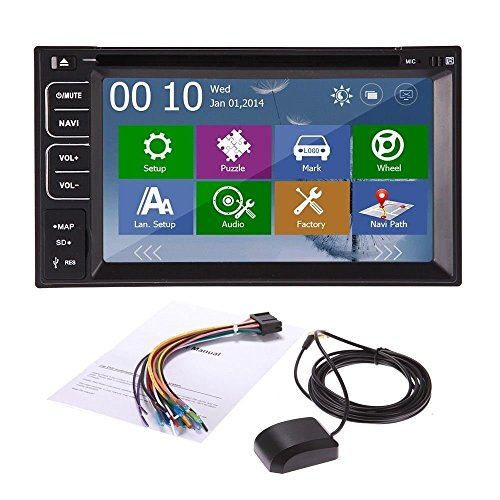 Car dvd player gps new win8 ui bluetooth rds radio 2 din car stereo - New Win8 Ui Double 2 Din 7 Quot Hd Car Gps Navigation