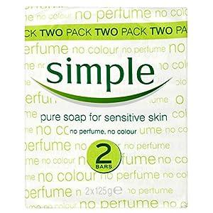 Savon Pur Simple Pour Peau Sensible (2X125G)