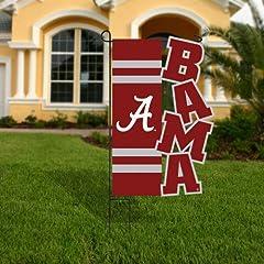 Buy Evergreen Enterprises Alabama Crimson Tide Applique Sculpted Garden Flag by Evergreen
