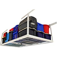 SafeRacks 3' x 8' Overhead Garage Storage Rack