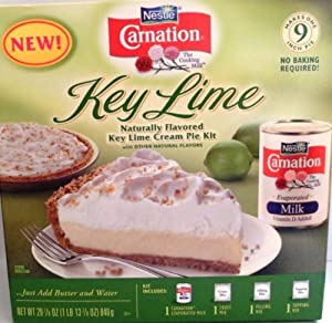 Nestle Carnation Key Lime Cream Pie Dessert Kit - Easy recipe Carnation dessert kit