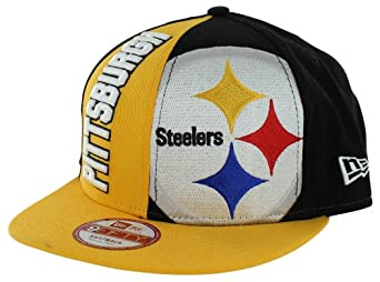 Pittsburgh Steelers NE NC Embroidered 9FIFTY Snapback Cap by New Era