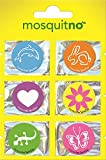 MosquitNo 6 Count Spotz Citronella Stickers with Different Designs