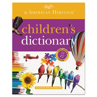 Houghton Mifflin American Heritage Children'S Dictionary, Hardcover, 864 Pages