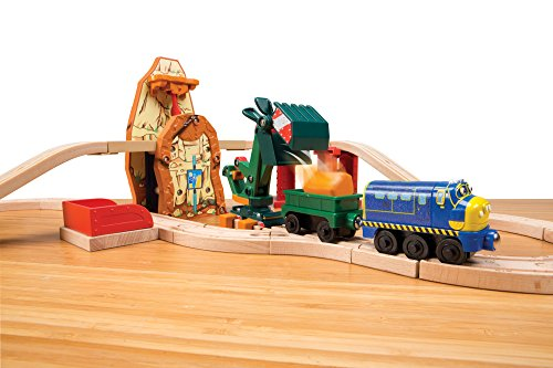 Chuggington Wooden Railway Mine Excavator Set