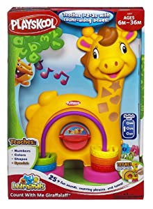 Playskool - Jirafun cuenta conmigo (Hasbro A3207188) por Hasbro - Bebe Hogar