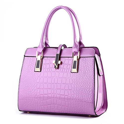 koson-man-womens-modern-pu-leather-vintage-tote-bags-top-handle-handbagpurple