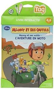 LeapFrog - 80193 - Jeu Educatif  - Livre Mon Lecteur Leap/Tag - Manny et ses Outils (Disney)