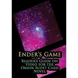 Ender's Game: Reader's Guide on Video for the Orson Scott Card Novel