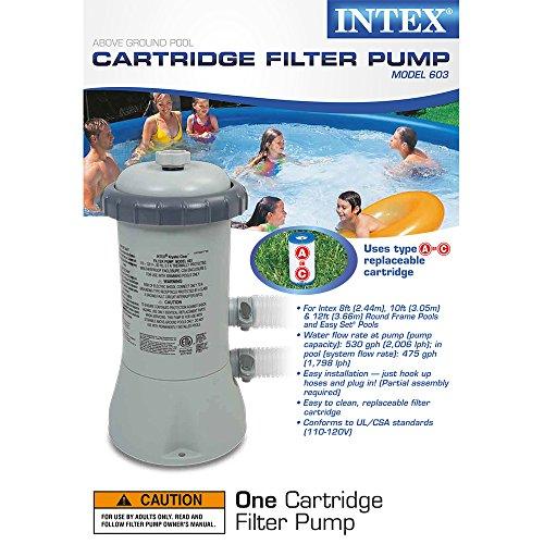 Intex krystal filter ground 110 120v for Intex pool 120 hoch