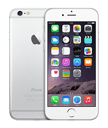 米国版SIMフリー iPhone 6 アップル Apple 4.7インチ NFC対応 (64GB, シルバー Silver)