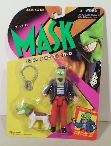 THE MASK FROM ZERO TO HERO ACTION FIGURE: FACE BLASTIN MASK - 1