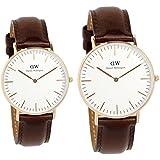 [ダニエルウェリントン]Daniel Wellington 腕時計 ペアウォッチ 0511DW 36mm 0109DW 40mm クラシック シンプル メンズ レディース [並行輸入品]