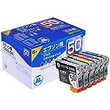 エプソン IC6CL50 6色セット対応 ジットリサイクルインク JIT-E506PZ 日本製
