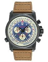 Tommy Bahama Swiss Men's TB1273 Panama Pilot Analog Display Japanese Quartz Brown Watch by Tommy Bahama Swiss