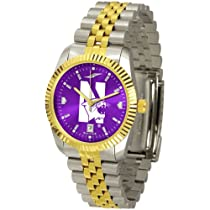 "Northwestern Wildcats NCAA AnoChrome ""Executive"" Mens Watch"