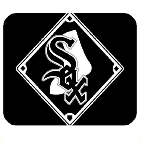 Computer Mice Chicago White Sox Logo Square Mouse Mat at Amazon.com