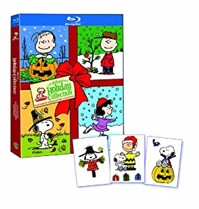 Peanuts Deluxe Holiday Collection Ultimate Collectors Edition Blu-ray from Warner Home Video