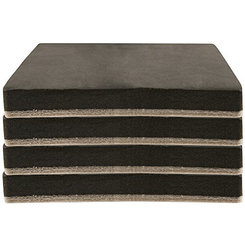 Felt 5 Heavy Furniture Movers For Hard Surfaces 4 Pieces