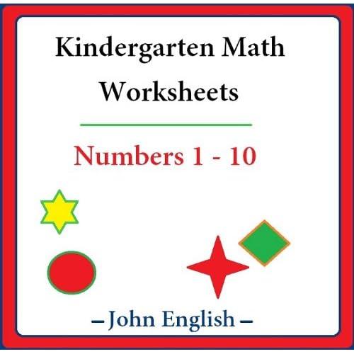 Image: Kindergarten Math Worksheets: Numbers 1 - 10: John English