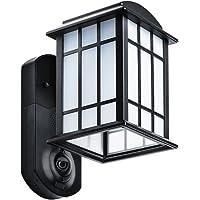 Kuna Smart Home Security Outdoor Light & Camera Works with Amazon Alexa (Craftsman Black)