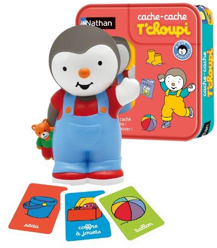 Nathan - 31018 - Jeu Educatif Electronique - Cache Cache T'choupi