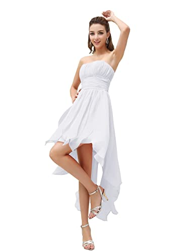 Meilleur blog robe: Robe blanche courte devant longue derriere