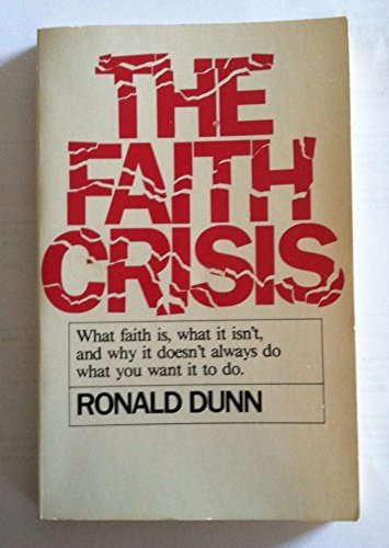 a crisis of faith in salvation by langston It is the essential charge of this paper to examine the schema of the life of salvation and sanctification as presented by dr gilbert w stafford (1938-2008.