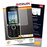 AtFoliX FX-Antireflex screen-protector for Nokia C2-01 - Anti-reflective screen protection!
