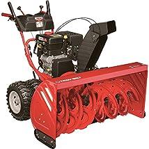 - Troy-Bilt 45in. Electric-Start Polar Blast 4510 Snow Thrower - 420cc 4-Cycle Engine Model# 31AH97P7766