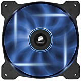 Corsair Air Series AF140-LED 140mm Quiet Edition High Airflow LED Fan - Blue (Single Pack)