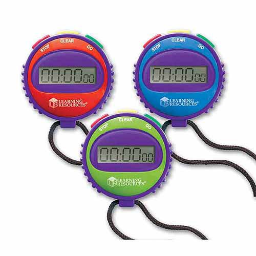 Stopwatch For All Kinds Of Classroom Activities W/ Simple 3-Button Function