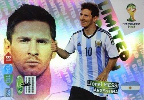 FIFA World Cup 2014 Brazil Adrenalyn XL Lionel Messi Limited Edition - 1