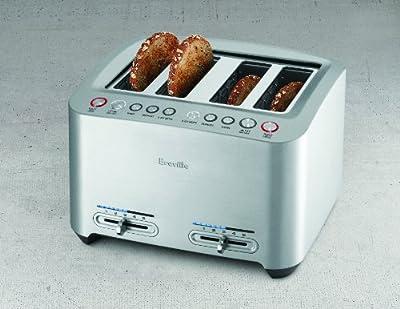 Breville RM-BTA840XL Certified Remanufactured Die-Cast 4-Slice Smart Toaster from Breville ( Refurbished)