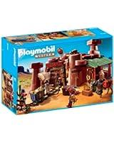 Playmobil - 5246 - Jeu de Construction - Mine d'or avec Explosif
