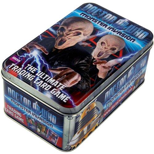 Doctor Who - Monster Invasion - Série 2 - Boite Métal 46 Cartes à Collectionner (Version Anglaise)
