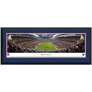 HOUSTON TEXANS - RELIANT STADIUM - NFL PANORAMA POSTER PRINT by Blakeway Panoramas