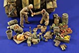 WWII ドイツ戦車兵 食糧セット[VP2776]Camping Grounds Germany WWII Tankers 1:35 Scale