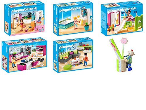 Playmobil set 5576 ankleidezimmer 5577 modernes badezimmer 5579