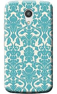 Fashionury™ Soft Silicon Printed Designer Back Cover- For Motorola Moto G2