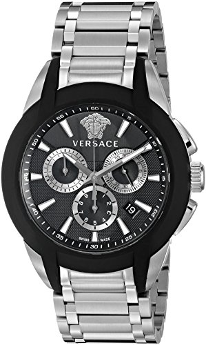 Versace-Mens-VQN040015-Character-Analog-Display-Quartz-Silver-Watch