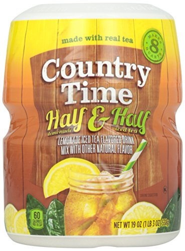Country Time Half Iced Tea Half Lemonade, 19 oz Review